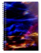 Electric Chaos Spiral Notebook