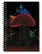 Electric Disney Spiral Notebook