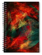 Electric Dreams Of The Ancients Spiral Notebook