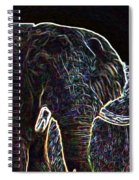 Electric Elephant Spiral Notebook