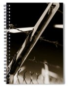 Electric Fence Duo Tone Spiral Notebook