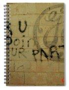 Electric Graffiti  Spiral Notebook