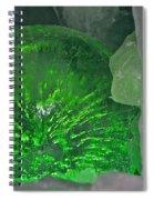 Electric Green Spiral Notebook