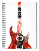 Electric Guitar - Buy Colorful Abstract Musical Instrument Spiral Notebook