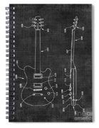 Electric Guitar Patent 039 Spiral Notebook