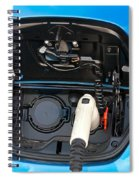 Electric Hybrid Car Charging Socket Spiral Notebook