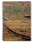 Electric Landscape Spiral Notebook