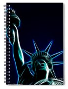 Electric Liberty Spiral Notebook