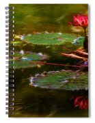 Electric Lily Pad Spiral Notebook