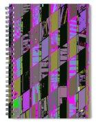 Electric Magenta Spiral Notebook