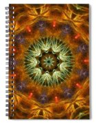 Electric Mandala 1 Spiral Notebook