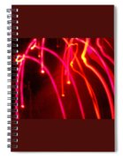 Electric Rain Spiral Notebook