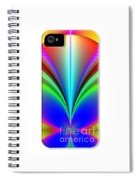 Electric Rainbow Orb Iphone Case Spiral Notebook