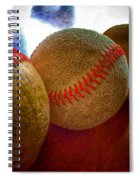 Electric Seams  Spiral Notebook
