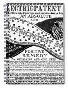 Electric Socks, 1884 Spiral Notebook