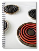 Electric Stovetop Spiral Notebook