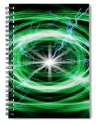 Electric Strom Spiral Notebook
