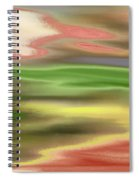 Electric Sunset Spiral Notebook