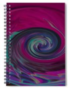 Electric Tidal Wave Spiral Notebook