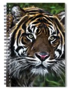 Electric Tiger Spiral Notebook