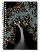 Electric Tree - Phone Cases And Cards Spiral Notebook