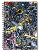 Electrical Cord Picking Spiral Notebook