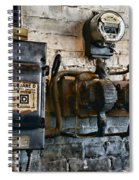 Electrical Energy Safety Switch Spiral Notebook