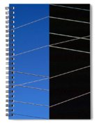Electrical Grid Spiral Notebook