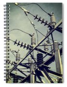 Electricity Spiral Notebook