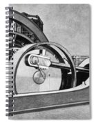 Electricity Generator Spiral Notebook