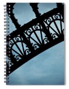 Electrify - Eiffel Tower Spiral Notebook