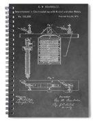 Electroplating Spiral Notebook