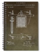 Electroplating Procedure Patent Spiral Notebook