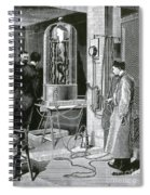 Electroplating The Dead, 1891 Spiral Notebook