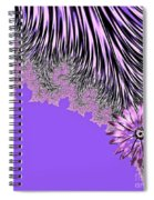 Elegant Tentacles Purple And Lilac Spiral Notebook