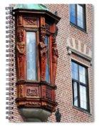 Elegant Window In Bergen Spiral Notebook