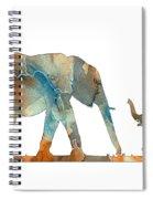 Elephant 01-2 Spiral Notebook