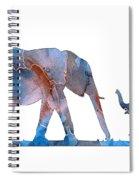Elephant 01-3 Spiral Notebook