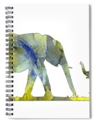 Elephant 01-5 Spiral Notebook