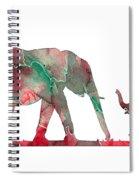 Elephant 01-6 Spiral Notebook
