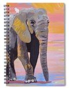 Elephant Fantasy Must Open Spiral Notebook