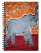 Elephant N Time Out Spiral Notebook