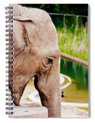 Elephant Open Mouth Spiral Notebook