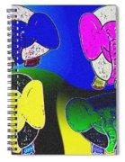 Elephant Parade Spiral Notebook