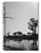 Elephant Skull On Riverbank, Okavango Spiral Notebook