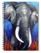 Elephant - The Gentle Spiral Notebook