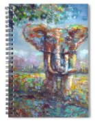 Elephant Thirst Spiral Notebook