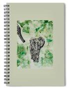 Elephant Walk Spiral Notebook