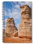 Elephant's Feet Rock Formation Spiral Notebook