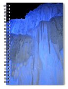 Elevated Blue Spiral Notebook